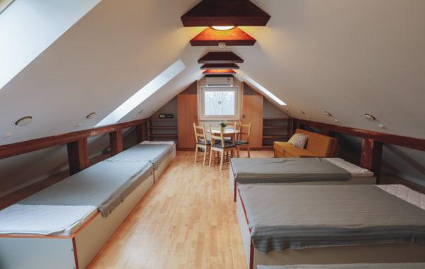 Štvor- až šesťlôžková izba